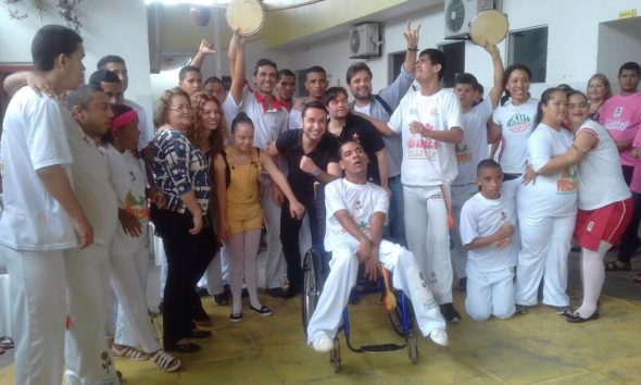Capoeira inclusive therapy